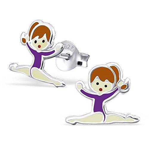 katy-craig-coppia-di-orecchini-a-bottone-piccoli-in-argento-sterling-a-forma-di-ginnasta-bambina-con