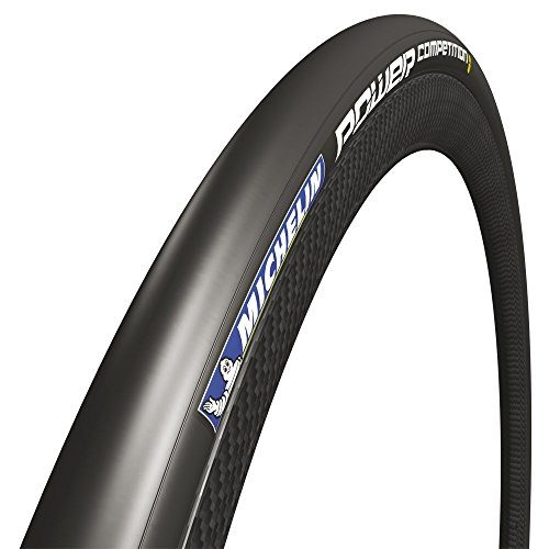 Michelin Power Competition Cubierta Plegable, Unisex Adulto, Negro, 700 x 25 mm