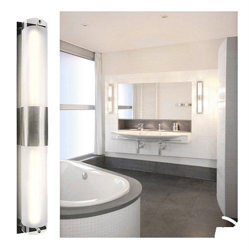 SLV 147455 Z 211 wall light, metal brushed, 2xG23. ESL, 2x11W, Steel, silver-grey, ,  ,