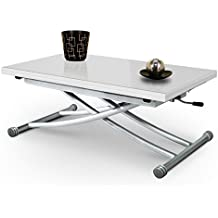 Amazon Fr Table Basse Relevable Verre