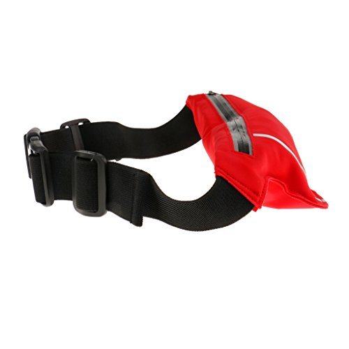 Unisex Hüfttasche, leicht und praktisch, geeignet für Jogging, Fitness, Radsport, Bergsteigen, Wandern usw. Outdoor Aktivitäten Rot