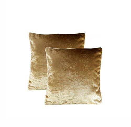 Purple Velvet Cushion Cover Designer Fancy Set of 2 ( Inaugural SALE Price )