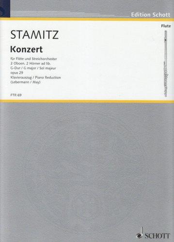 Konzert G-Dur Op 29 - Fl Str. Flöte, Klavier