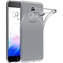 Funda Meizu M3 Note, AICEK Meizu M3 Note Funda Transparente Gel Silicona Meizu M3 Note Premium Carcasa para Meizu M3 Note