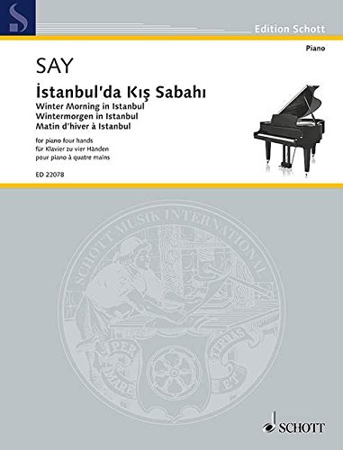 Winter Morning in Istanbul Op. 51b Piano