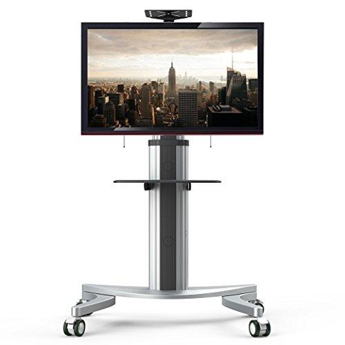 """Fleximounts P2 TV carrello mobile supporto a pavimento per moitor/TV di pannello piatto LCD LED Plasma 32\""""-70\"""", supporto con ruote"""