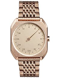 Slow Mo 05 Montre bracelet Mixte, couleur: Or Rose