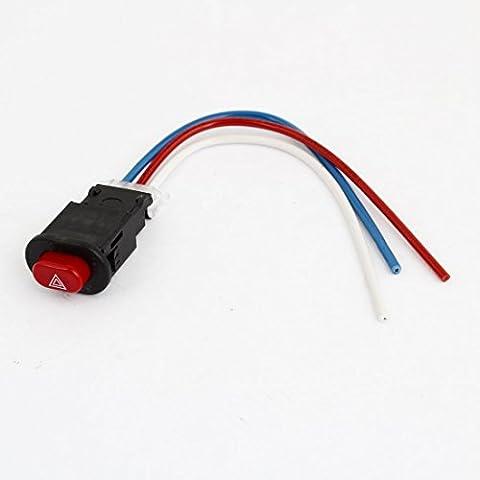 Motor 3 Interruptor de botón Salida del controlador con conexión de cable de riesgo ligero