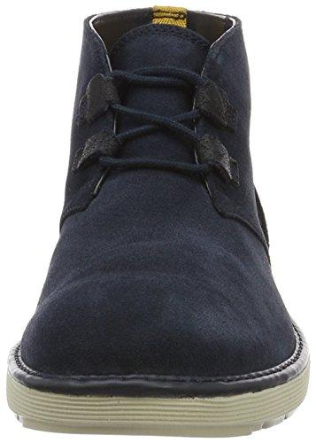 Clarks Herren Fayeman Hi Desert Boots Blau (Navy Suede)