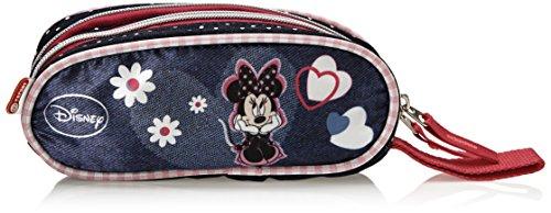 Disney 01443 – Estuche de lápices redondo estampado Minnie, sin contenido
