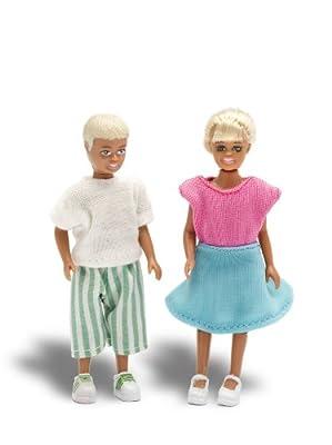 Lundby 60.9019.00 - Muñecos de niños Stockholm en traje de baño para casa de muñecas [importado de Alemania] de Lundby