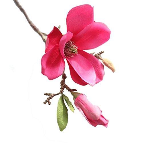 Hunpta Eine künstliche Kunstblumen Blatt Magnolia Blumen Hochzeit Bouquet Party Home Decor