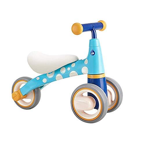 AI CHEN Kids Prams Dreirad für Kinder, Trike Easy Clip und tragbar Geeignet für 1 Jahr alt - 5 Jahre alt Baby Riding   Blue   Yellow   Pink (Die Welt Radfahren Rund Um)