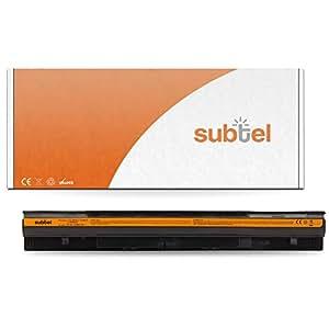subtel® Batterie premium (2200mAh) pour Lenovo G40/G400/G50/G500 / Z40/Z50/Z70 L12L4A02 Batterie de recharge, ordinateur Accu remplacement