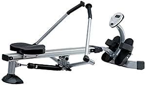 Jk Fitness i-Motion JK5070 Vogatore Richiudibile, Nero/Grigio