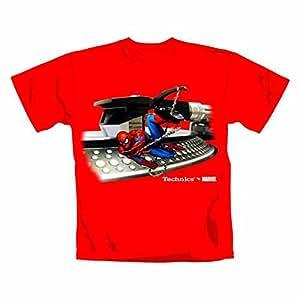 Spiderman - T-Shirt Technics vs Marvel (in M)