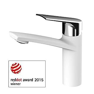 AWA - Sydney - Weiß & Chrom - Waschtischarmatur - RED DOT 2015