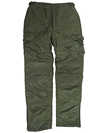 Mil-Tec US MA1 Thermal Trousers Olive size S