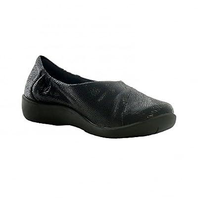 Clarks Women's Cloud Steppers Pumps Shoes Sillian Jetay Black Combi