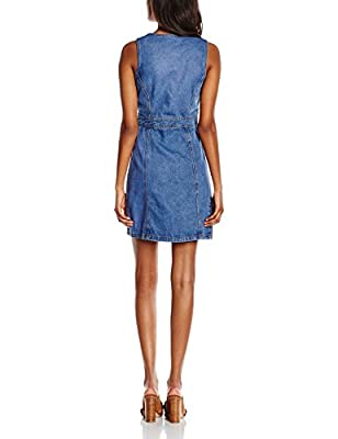 New Look Women's Breezy Button Through Sleeveless Dress