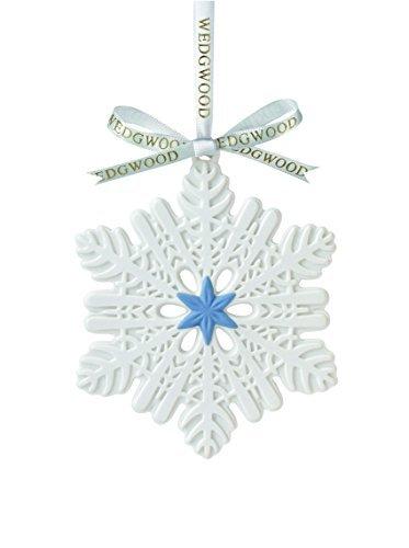 Wedgwood Snowflake Figural Ornament by Wedgwood -