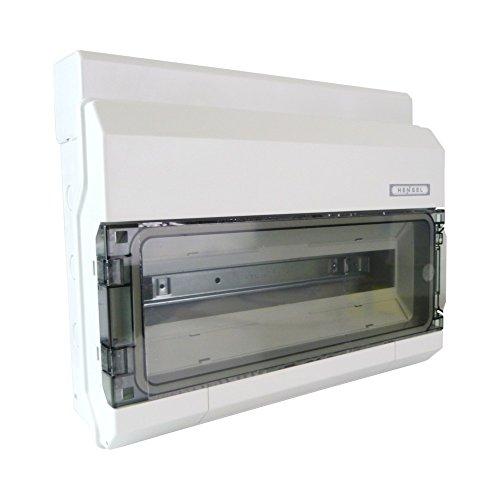 Hensel Automatengehäuse KV 1518 18TE 18x18mm IP54 KV-Automatengehäuse Installationskleinverteiler 4012591622253