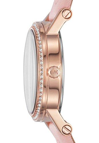 Michael Kors Damen-Armbanduhr Analog Quarz One Size, rosé, pink/rosé - 2