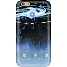 Durable Defender Case For iPhone 6TPU Funda (Naruto Rasen Shuriken)