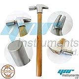 Attrezzi per inchiodatura e maniscalco per gli zoccoli del cavallo, peso 310g, lunghezza del martello 30,5 cm