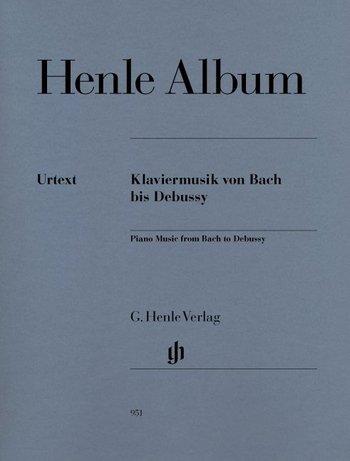 Henle Album für Klavier mit Bleistift - 39 Klavierstücke von Bach bis Debussy in Urtextausgabe mit Texteinführung zu Komponist und Werk (dt./eng./frz./jap.) (Noten/sheet music) -