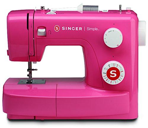 Singer MC Simple 3223 Macchina per cucire, Rosa (Pink...