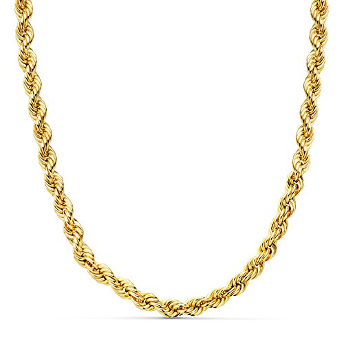 Cordón Salomónico Oro amarillo 18k 60cm 5mm