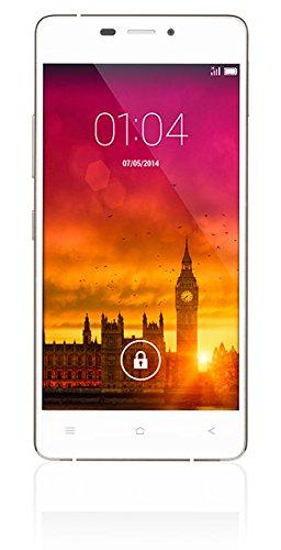 """Kazam Thunder 348 - Smartphone de 4.8"""" (1.7 GHz, 1 GB de RAM, 16 GB de memoria interna, Android) color blanco"""