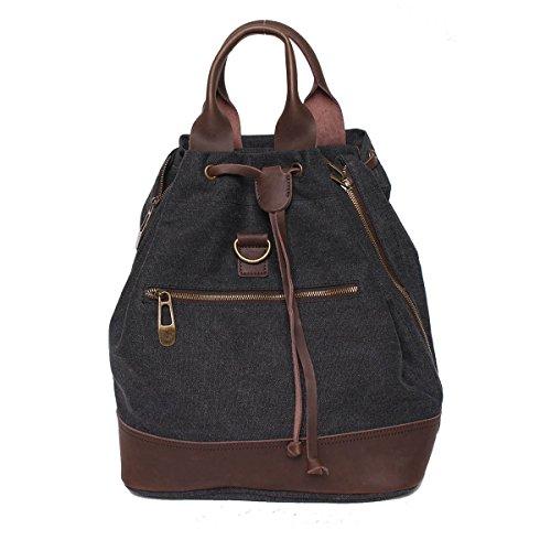 Damen Tote-Tasche schwarz schwarz ZEDE fGaGMScsvk