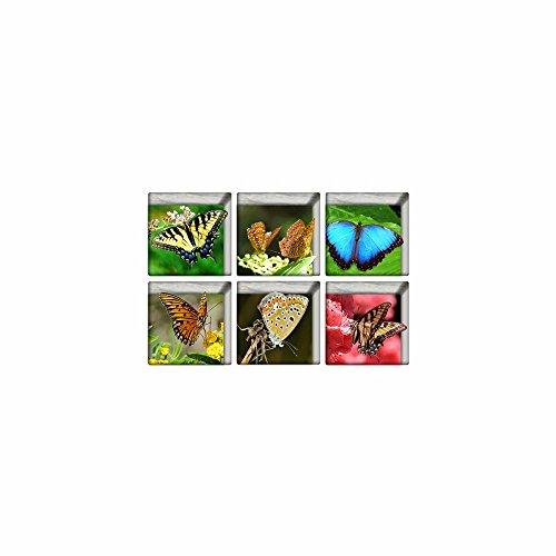 Décorations de Noël pour Halloween (papillon) 3d baignoire antidérapants sticker / creative / frosted / les / home / bath / sticker / personnalité / hd / auto - adhésif (13 * 13cm * 6pcs)