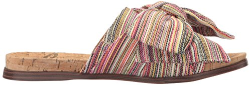 Sam Edelman Women's Henna Sandal Bright Multi Stripe