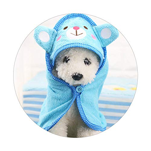 Kostüm Super Dog - Zonfer Cute Pet Dog Towel Soft Drying Bath Pet Towel for Dog Cat Hoodies Puppy Bear Pattern Super Absorbent Bathrobes Cleaning Necessary Supply
