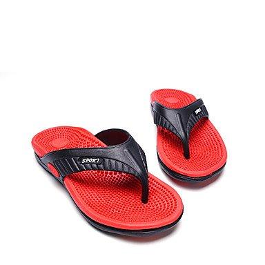 Slippers & amp da uomo;Estate Comfort Light suole in PVC per esterni casuali pattini piani di sabbia acqua sandali US8 / EU40 / UK7 / CN41
