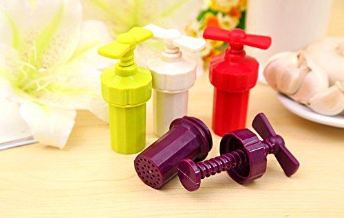 dersoning conjunto de puré de ajo triturador herramienta de cocción (color aleatorio)