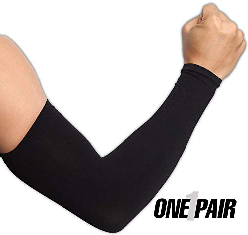Ksnrang Sport Raffreddamento dei Manicotti Unisex Sun Protezione UV di Banda Mani di Copertura di Compressione Guanto Manica per Tutte Le attività