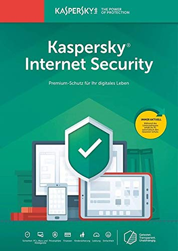 Kaspersky Internet Security 2019 | 1 Gerät | 1 Jahr I Download I E-Mail