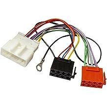 AERZETIX: Adaptador cable enchufe ISO para autoradio de coche vehiculos C12053