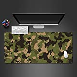 Cool Mouse pad arte astratta camuffamento di alta qualità in gomma lavabile gioco Mouse Pad tappetini per mouse computer migliori regali d'arte 600x300x2