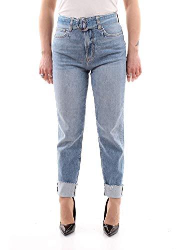 Guess Jean Shorts (Guess The IT Girl Skinny Belt Hosen Damen Blau - US 28-3/4 Hosen & 7/8 Hosen)
