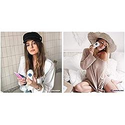 NIVEA Pure Skin Tête de brosse Peaux Normales & Sensibles (1 x 2 têtes), accessoire pour brosse nettoyante visage électrique, nettoyage 7X plus efficace