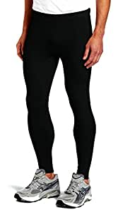 Bloomun Fitness Mens Tight, Compression, Gym Tight, Cycling Tight, Yoga Pant, Jogging Tights - Black Color