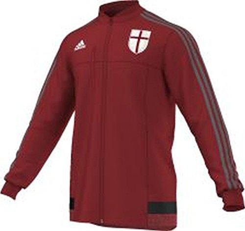 Ac Mailand Jacke (adidas Herren Jacke AC Milan Anthem vicred/Granit/Black, XS)
