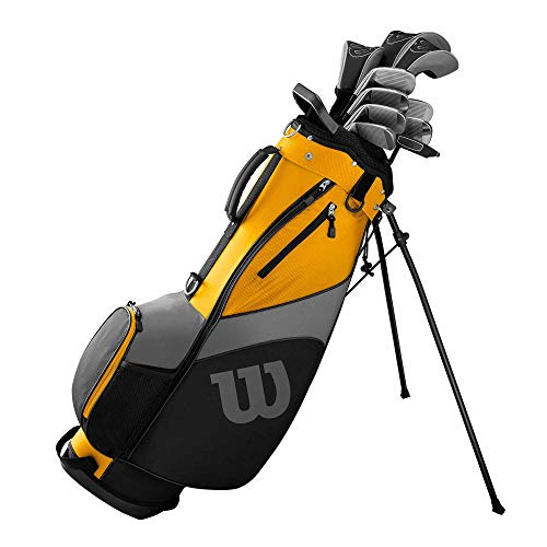 Wilson Ultra Herren Komplettes Golfschläger Set & Stand Tasche 2019 Golf Komplettset Eisen Hölzer Driver Bag Verschiedene Ausführungen Rechts/Verlängert Mit Stahlschaft