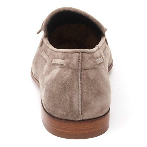 B4893 mocassino uomo TOD'S scarpa tortora shoe loafer man Tortora