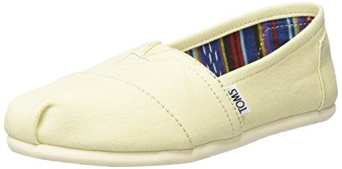 Toms Classic Womens Slip On Beige - 5 UK